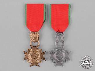 Brazil, Federative Republic. A Combatant's Cross, I Class and II Class