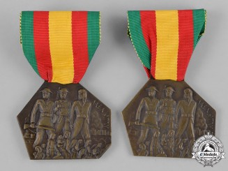 Egypt, Kingdom, Republic. Two Palestine Medals