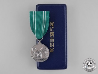 Korea, Republic. An Anti-Guerrilla Warfare Service Medal