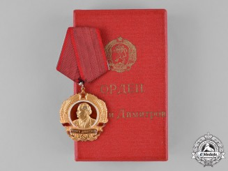 Bulgaria, People's Republic. An Order of Georgi Dimitrov