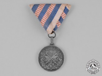 Croatia, Republic. A Wound Medal, Iron Grade for Three Wounds