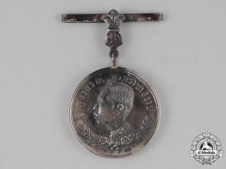 Thailand, Kingdom. A Haw Campaign Medal, Silver Grade