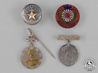 Japan, Empire. A Lot of Four Badges