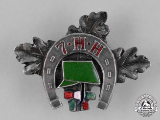 Hungary, Kingdom. A First War Regimental Badge