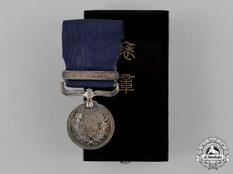 Japan, Empire. A Merit Medal for Philanthropists (Konjuhosho)