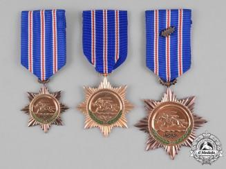 Syria, Republic. Three Orders of Bravery
