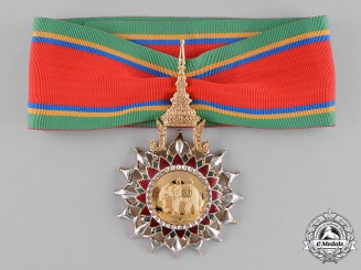 Thailand, Kingdom. A Most Exalted Order of the White Elephant, III Class Commander, c. 1960