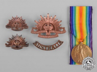Australia. A First War Medal Group, 20th Battalion, Australian Imperial Forces