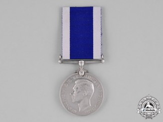 United Kingdom. A Royal Navy Long Service & Good Conduct Medal, H.M.S. Fleetwood