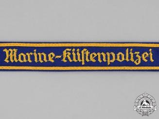 Germany, Kriegsmarine. A Kriegsmarine Küsten-Polizei (Naval Police) Cuff Title