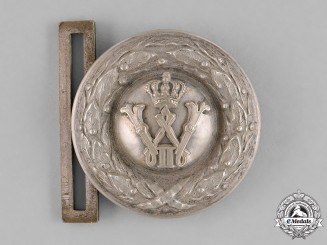 Germany, Heer. A First War Period Heer (Army) Officer's Belt Buckle