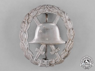 Germany, Imperial. A First War Period Wound Badge, Silver Grace