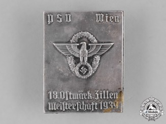 Germany, Ordnungspolizei. A 1939 Vienna Police Badge