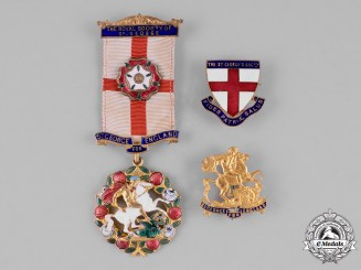United Kingdom. A Royal Society of St. George Badge