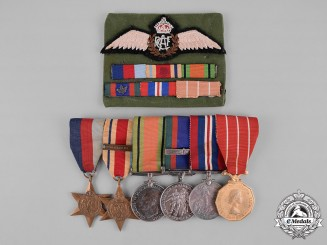 Canada. A Campaign Group to Captain John Murray Dalrymple, RCAF