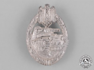 Germany, Heer. A Panzer Assault Badge, Silver Grade