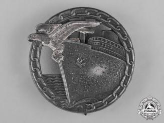 Germany, Kriegsmarine. A Blockade Runner Badge by Schwerin & Sohn