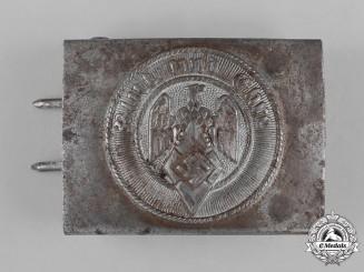 Germany, HJ. A HJ Member's Belt Buckle by Hillenbrand & Bröer