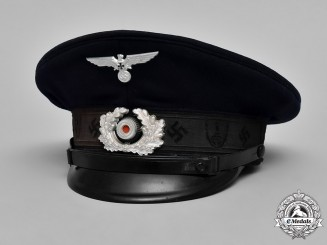 Germany, NS-RKB. A NS-Reichskriegerbund Member's Visor Cap, c.1939