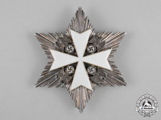 Germany, Third Reich. An Order of the German Eagle, II Class Star, by Gebrüder Godet