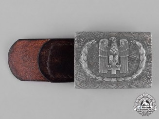 Germany, DRK. A German Red Cross EM/NCO's Belt Buckle
