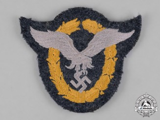 Germany, Luftwaffe. A Luftwaffe Pilot & Observer Badge, Cloth Version