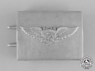Germany, RLB. A Reichsluftschutzbund (Reich Air Protection League) EM/NCO's Belt Buckle