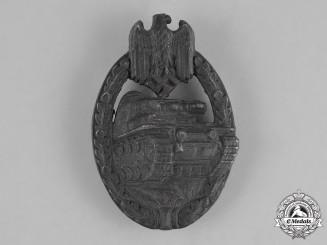Germany, Heer. A Panzer Assault Badge, Bronze Grade, by Wilhelm Deumer