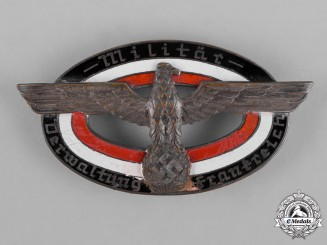 Germany, Wehrmacht. A Military Administration Service Badge for France