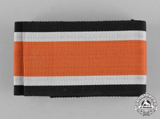 Germany, Third Reich. A Unissued Full Length Ribbon for the Knights Cross of the Iron Cross