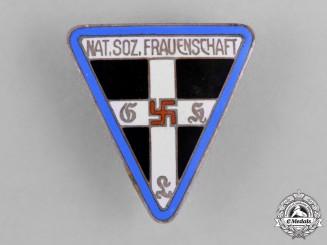 Germany, NS-Frauenschaft. A Nationalsozialistische Frauenschaft (National Socialist Women's League) Membership Badge by Wilhelm Kolwitz