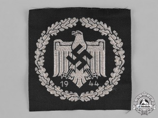 Germany, NSRL. A 1944 National Socialist League of the Reich for Physical Exercise (NSRL) Sports Shirt Eagle