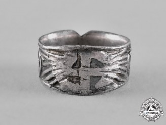 Germany, Third Reich. A Patriotic German Ring