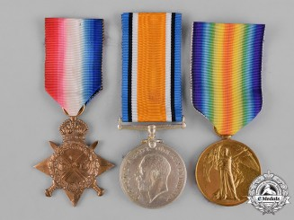 United Kingdom. Six First War Awards