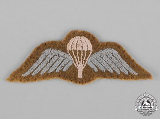 United Kingdom. A Parachute Regiment Wing, c.1945