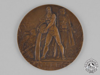 Belgium, Kingdom. A Ypres and Yser Campaign Table Medal, c.1920