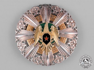 Syria, Republic. An Order of Military Honour, I Class Grand Cross Star, c.1955