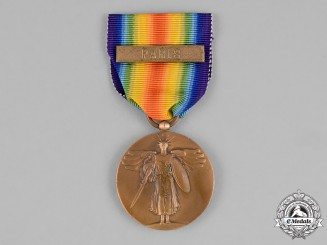 United States. A First War Victory Medal with Unofficial Paris Clasp