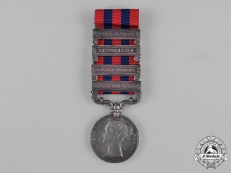 United Kingdom. An India General Service Medal, 44th Regiment, Native Infantry