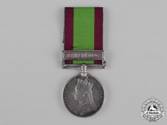 United Kingdom. An Afghanistan Medal 1878-1880, to Private T. Slater, 81st (Loyal Lincoln Volunteers) Regiment of Foot