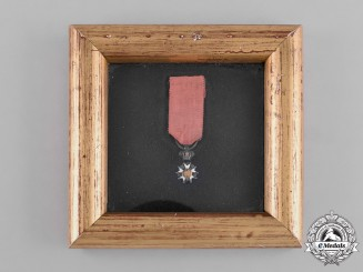 France, Second Restoration. A Miniature Order of the Legion of Honour, c,1820