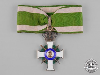 Saxony, Kingdom. An Albrecht Order, Commander's Cross with Swords, c.1915