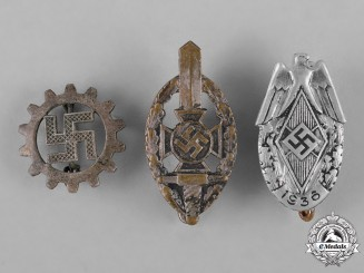 Germany, Third Reich.   A Lot of Second War Membership Badges