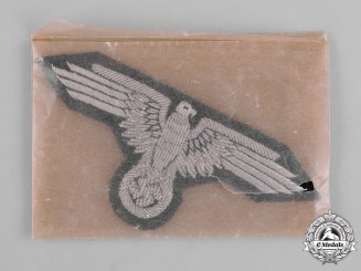 Germany, SS. A Mint SS Officer's Sleeve Eagle
