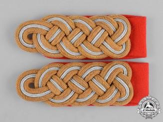 Germany, Heer. A Mint Pair of Heer (Army) Generalmajor Shoulder Boards