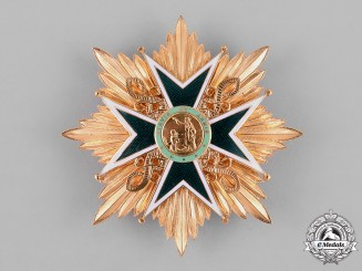 International. A Military and Hospitaller Order of Saint Lazarus of Jerusalem, Knight Commander, c.1965