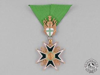 International. A Military and Hospitaller Order of Saint Lazarus of Jerusalem, Knight, c.1965