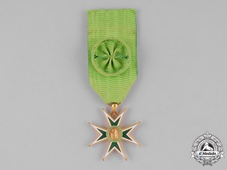 International. A Military and Hospitaller Order of Saint Lazarus of Jerusalem, Officer, c.1965