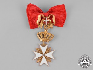 International. A Sovereign Military Hospitaller Order of Saint John of Jerusalem, Breast Badge, c.