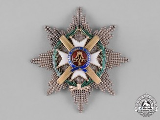 Serbia, Kingdom. An Order of Takovo, II Class Grand Officer, by Rothe